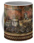 Locomotive - Our Old Family Business Coffee Mug by Mike Savad