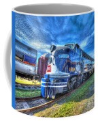 Locomotive Wabash E8 No 1009 Coffee Mug
