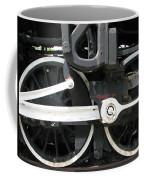 Locomotive Wheels Coffee Mug