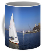 Locust Pt Sailing Coffee Mug