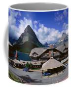 Lodge At Many Glacier, Glacier National Coffee Mug
