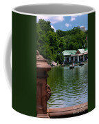 Loeb Boathouse Central Park Coffee Mug by Amy Cicconi