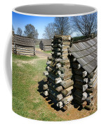 Log Cabins At Valley Forge Coffee Mug