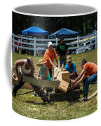 Log Cutting Competition Coffee Mug