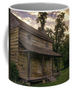 Log House Dusk Coffee Mug