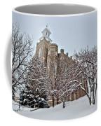 Logan Temple Winter Coffee Mug