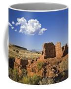 900 Year Old Lomaki Puebloan Ruins, Arizona Coffee Mug