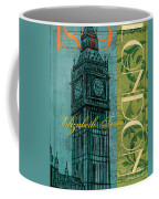 London 1859 Coffee Mug by Debbie DeWitt