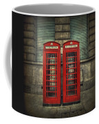 London Calling Coffee Mug by Evelina Kremsdorf