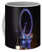 London Eye By Night Coffee Mug