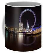 London Eye Night Coffee Mug