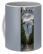 London Eye Vertical Panorama Coffee Mug