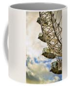 London Eye View Coffee Mug