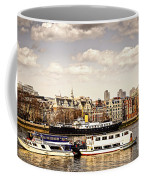 London From Thames River Coffee Mug