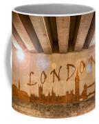 London Graffiti Skyline Coffee Mug