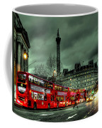 London Red Buses And Routemaster Coffee Mug by Jasna Buncic