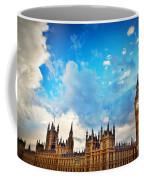 London Uk Big Ben The Palace Of Westminster Coffee Mug
