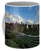 London Underground And The Tower Of London Coffee Mug