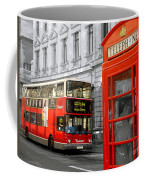 London With A Touch Of Colour Coffee Mug