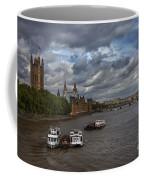 London's Thames River Coffee Mug