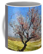 Lone Almond Tree In Bloom Coffee Mug
