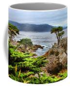 Lone Cypress By Diana Sainz Coffee Mug
