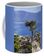 Lone Cypress Tree Coffee Mug