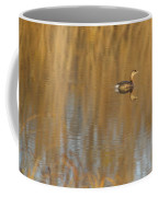 Lone Grebe Coffee Mug