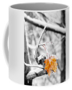 Lone Leaf Coffee Mug
