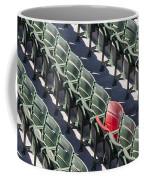 Lone Red Number 21 Fenway Park Coffee Mug