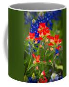 Lone Star Blooms Coffee Mug