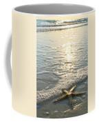Lone Star On Lovers Key Beach Coffee Mug by Olivia Novak