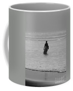 Lone Surfer Coffee Mug