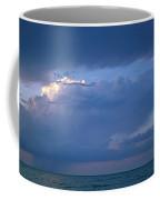 Lone Thunderstorm On Lake Erie Coffee Mug
