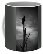 Lone Vulture Coffee Mug