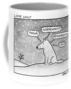 Lone Wolf: Coffee Mug