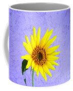 Lone Yellow Daisy Coffee Mug