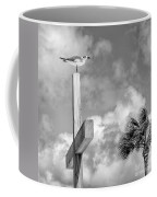 Lonely At The Top Coffee Mug by Lynn Palmer