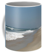 Lonely Beach On Cape Hatteras Coffee Mug