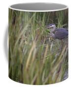 Lonely Heron Coffee Mug