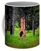Lonely Fireplace Coffee Mug