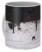 Lonely Horse Coffee Mug