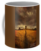 Lonely House On The Hill Coffee Mug