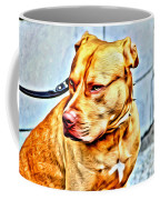 Lonely Pit Bull Coffee Mug
