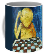 Lonesome Chess Player Coffee Mug
