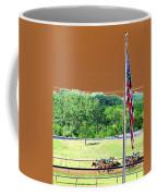 Lonestar Park - Backstretch - Photopower 2204 Coffee Mug