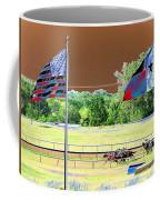 Lonestar Park - Backstretch - Photopower 2205 Coffee Mug