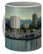 Long Beach Cityscape   Coffee Mug