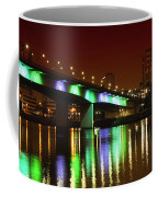 Long Beach Skyline At Night Coffee Mug
