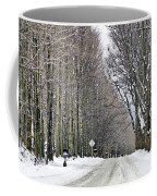Long Country Road Coffee Mug